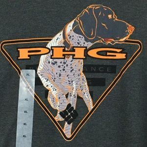 Columbia PHG T Shirt Size XL Gray Jameson
